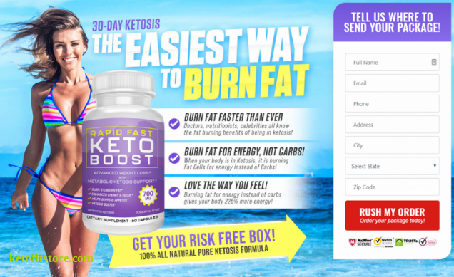 Rapid Fast Keto Boost Pills Reviews