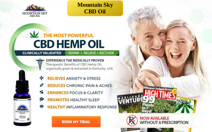 Mountain Sky CBD Oil Order