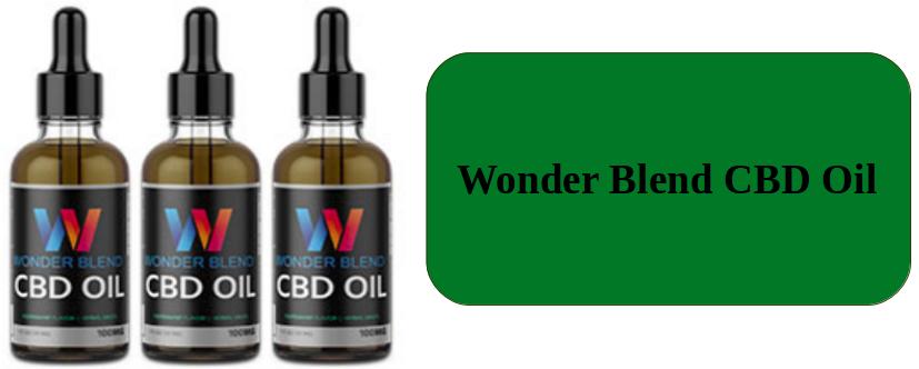 Wonder Blend CBD Oil Benefits